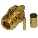 RF N female gold plated connector for H155, RF240