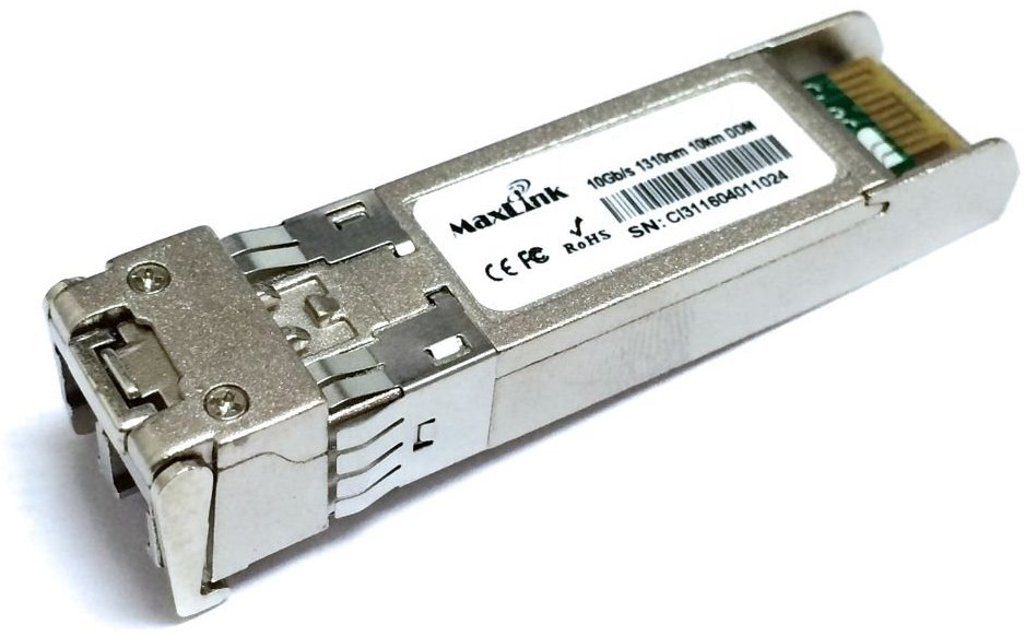 MaxLink 10G SFP+ optický modul, outdoor -40°C, SM, 1310nm, 10km, 2x LC konektor, DDM, Cisco compatible